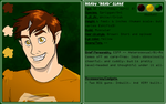 Character Trading Card-Brad (COMMISSION) by mistress0minx