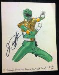 JDF Signed Green Ranger by IllustratorErik
