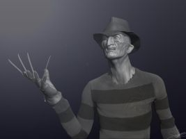 Freddy Krueger - Zbrush WIP 10 by FoxHound1984
