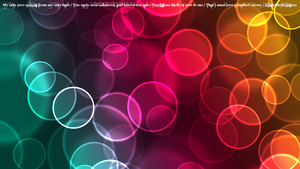 Bokeh Wallpaper by kingoftheswingers