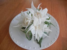 Snow White Radish Bouquet by Chuncarv