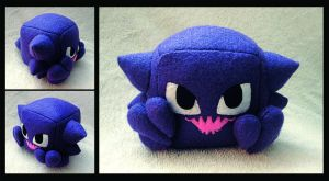 Haunter Cube Plush by caffwin