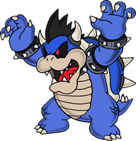 Dark Bowser by Tails19950