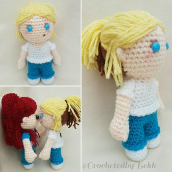 Allie Novak from Wentworth! by CrochetedbyBekk