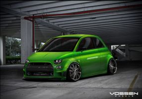 fiat 500 toxingnome by tuner-1991