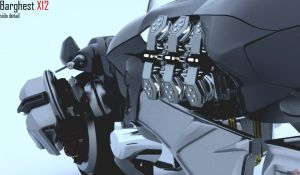 Barghest X12 - Side Detail by mus0u
