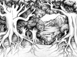 Forest - WIP by impluvium