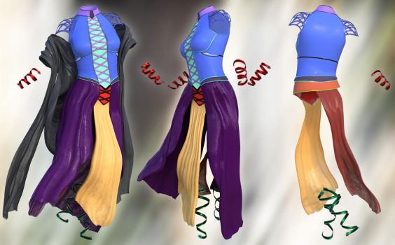 Tyto Ensemble - materials by Aarki