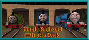 Magic Railroad Whistle Pack Release by OkamiTakahashi