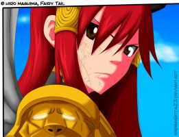 Erza ColorArt Fairy Tail Chapter 322-Gloria by Irenechii