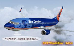 Pete the Boeing 737-800 by B737TheAirliner