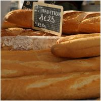 Market : french bread by MissUmlaut