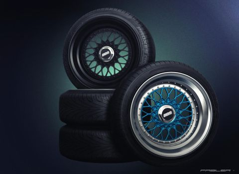 BBS RS wheels by Fabler-3Dworks