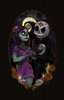 Nightmare Before Dia de los Muertos by Myrcury-Art