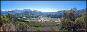 Franschhoek Panorama by substar