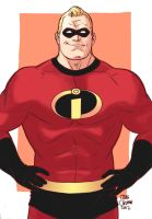 Mr. Incredible by craigcermak