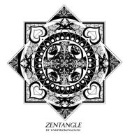 Zentangle 1 by vampirekingdom by vampirekingdom