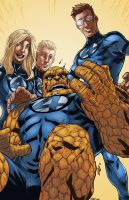 Ultimate Fantastic Four by logicfun
