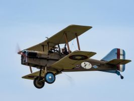Royal Aircraft Factory S.E.5a by amipal