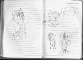 180 Notebook- Pages 96 and 97 by FoxTone
