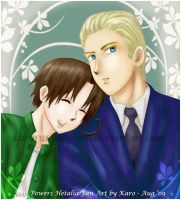 APH - GerIta: Happiness is... by KaroruMetallium