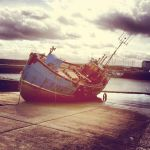 Old fishing boat by OMG-ImSoAwesome