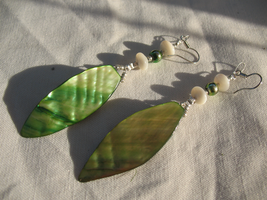 Crafted Nacre Earrings 1 by sampdesigns