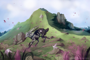 | unbounded freedom |+speedpaint by s-alvatore