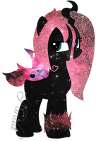 Galaxy Pomf by iPandacakes