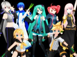 Project Diva Group Pic by KHweilderkey21