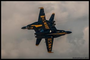 Blue Angel Miramar  Cross 2012 by AirshowDave