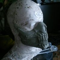 Immortan Joe's Mask WIP 1 by Thomasotom