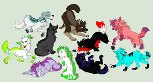 Wolf Pups by Amazing-Max
