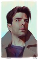 Zachary Quinto by JayCount