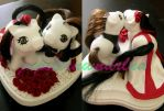 Wedding Cake Topper by jupiternwndrlnd