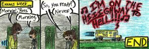 Exam Comic 2013 by teambrownie1