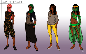 Akhirah Costume Design by PayLe