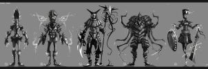 Grayscale Goons 01 by jouste