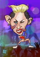 Miley Cyrus by Tomislav Zvonaric by DeviArTZ