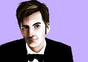 The 10th Doctor by FionnatheHuman8