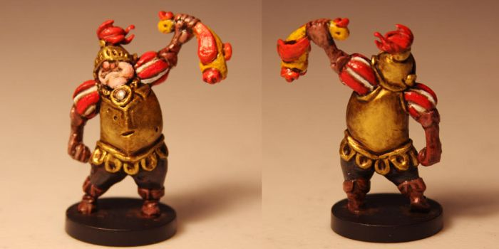 Game Miniature: Sir Example by ShadowSpyProductions