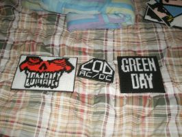 Zombie COD Green Day Logos by phillipfanning