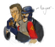 TF2: Smokes by spookyfoxmulder