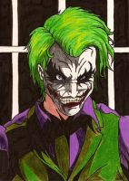 THE JOKER cartoon ledger by fullmetalschoettle