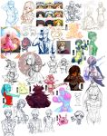 Not that big of a doodle dump June edition by ryuuen