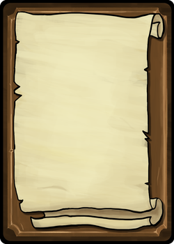 Playing cards template - Scroll front by Toomanypenguins
