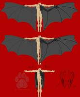 Demonoid wing concept by SarahFraggle