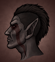 Dunmer Dude by Doomed-Dreamer