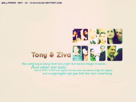 Wallpaper - Tony and Ziva II by vivovivo