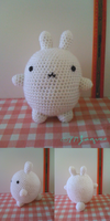 Molang the Bunny (FREE Pattern in Description) by PokeMasterJaques